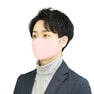 接触冷感マスク 5枚セット(薄手/大きめタイプ)【ピンク】 1