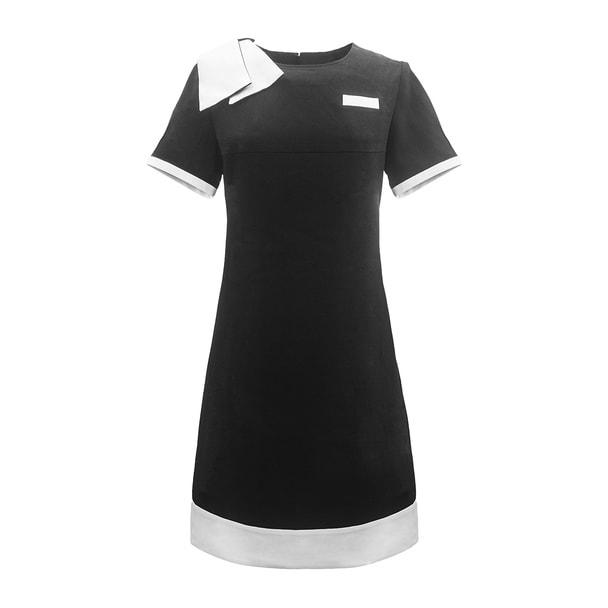 ベリエッラワンピース(A)5Lサイズ(ブラック) 1
