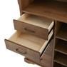 【シャビーシック】木製アンティークレジカウンター VICTOIRE-1200(ヴィクトール)BR 3