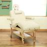 【FIORETTO】低反発木製リクライニングベッド「フィオレット」(ベージュ) 1