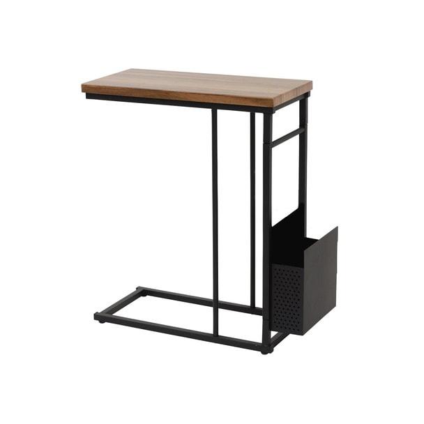 カフェライクテーブル ブラウン 1