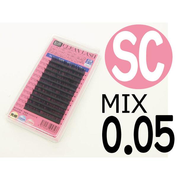 【松風】先細抗菌やわらかシルクセーブル SCカール[太さ0.05][長さMIX] (01606) 1