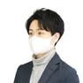 接触冷感マスク 5枚セット(薄手/大きめタイプ)【ホワイト】 1