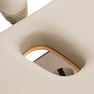 高級低反発木製折りたたみベッド006SDX(ベージュ) 9