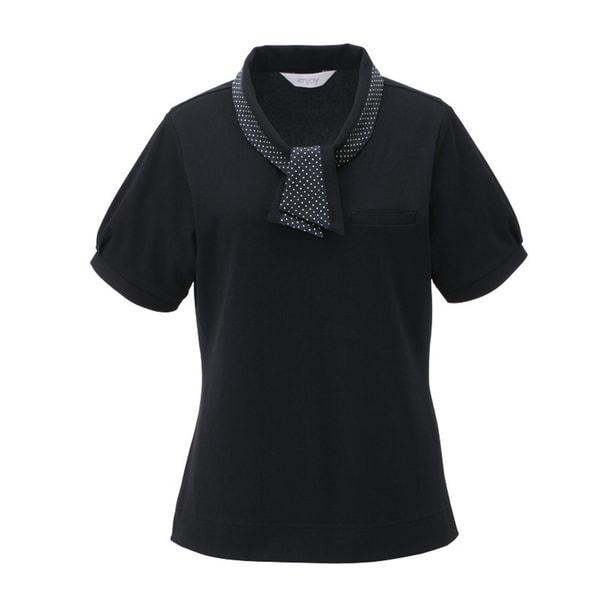 ポロシャツ ESP404(LL)(ブラック) 1