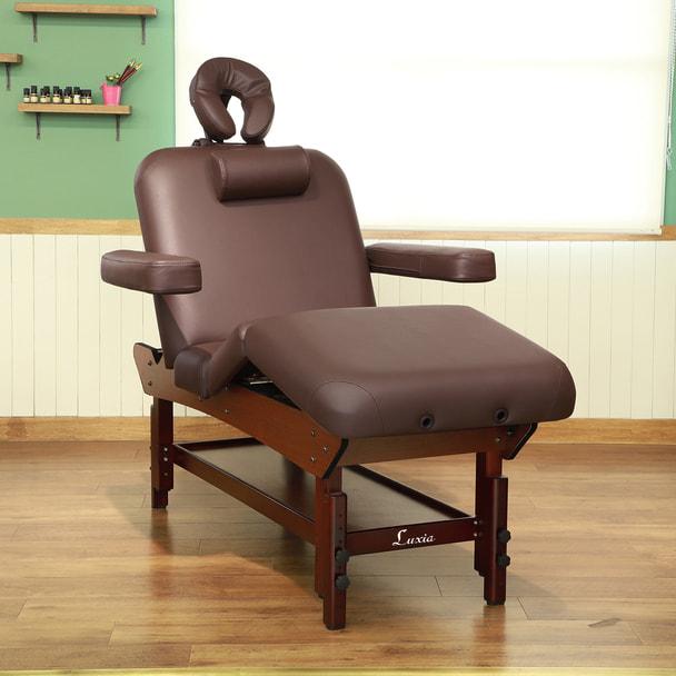 【FIORETTO】低反発木製リクライニングベッド「フィオレット」(ダークブラウン) 1