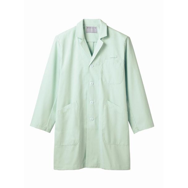 TTドクターコート(メンズ・長袖)71-687(L)(ミント) 1
