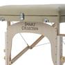 高級低反発木製折りたたみリクライニングベッド009SDX(ベージュ) 8