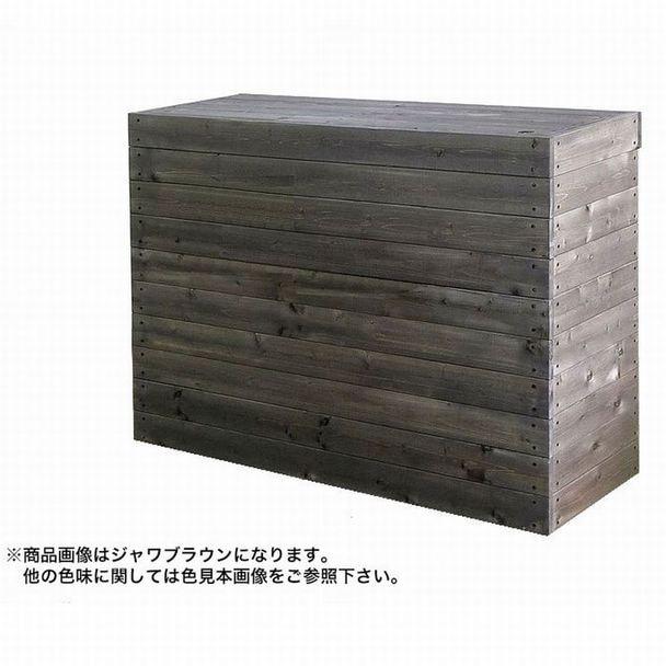 レジカウンターA(W1200・日本製) ジャワブラウン 1