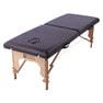 軽量木製折りたたみベッド EB-03(キャリーバッグ付)  (ホワイト) 2