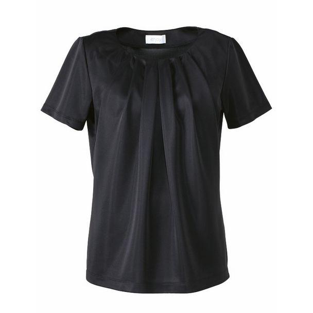 半袖プルオーバー EST559(3L)(ブラック) 1