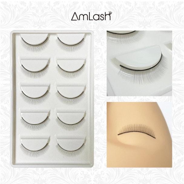 【AmLash】練習用つけまつげ10個(両目5セット) 1