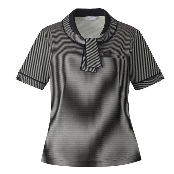 ポロシャツ ESP556(LL)(ブラック) 1