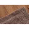 【ホテル仕様】オーガニックコットンバスタオル(M)70×140cm(ダークブラウン) 3