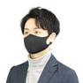 接触冷感マスク 5枚セット(薄手/大きめタイプ)【ブラック】 1