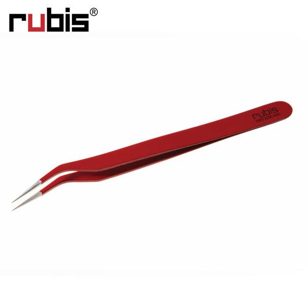 【rubis】アイラッシュ仕分け用ツイーザー レッド