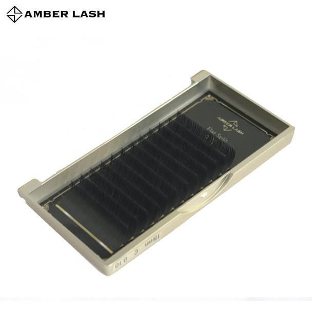 【AMBER LASH】フラットスプリット[Cカール 太さ0.15 長さ14mm] 1