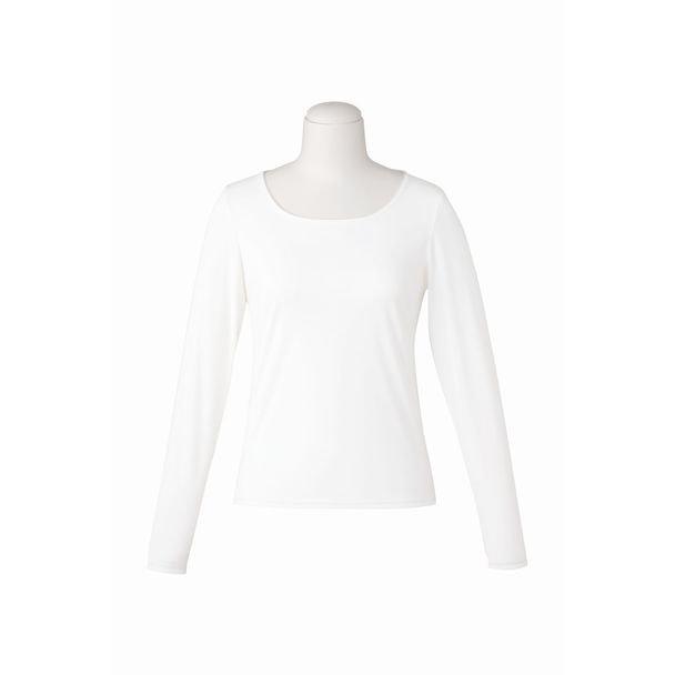 長袖プルオーバー EWT081(3L)(ホワイト) 1