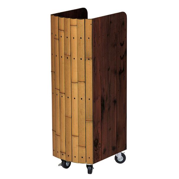 BambooワゴンYS-F22(ウォールナット) 1
