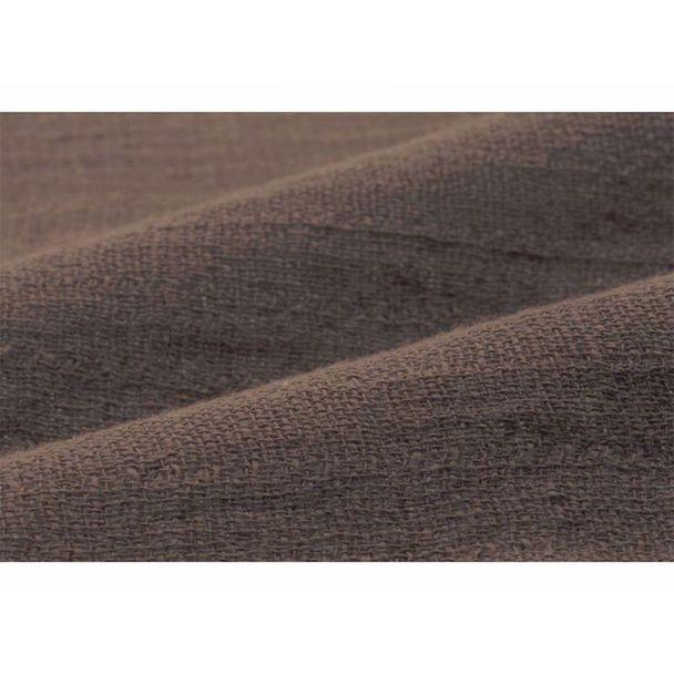 【今治タオル】薄くて軽いガーゼの様なタオル フェイスタオル (32×85cm)9208(ブラウン) 1