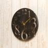 壁掛け時計 レトロ(56921)ブラウン 5
