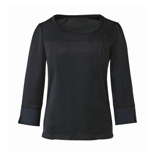 七分袖プルオーバー EWT533(L)(ブラック) 1