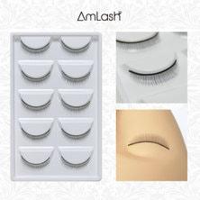 【AmLash】練習用つけまつげ10個(両目5セット)