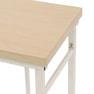 カフェライクテーブル ホワイト 11