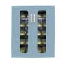 殺菌スリッパ保管庫 UVクリーン DXタイプ ワイド10足仕様 (ブルー)