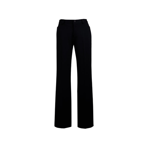 ストレッチパンツE-3042(M)(ブラック) 1