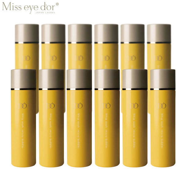 【Miss eye d'or】EYE D'OR ホイップウォッシュ マイクロバブル 12本セット 1