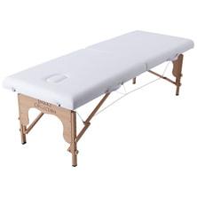 軽量木製折りたたみベッド EB 03DX(キャリーバッグ付)(ホワイト)の