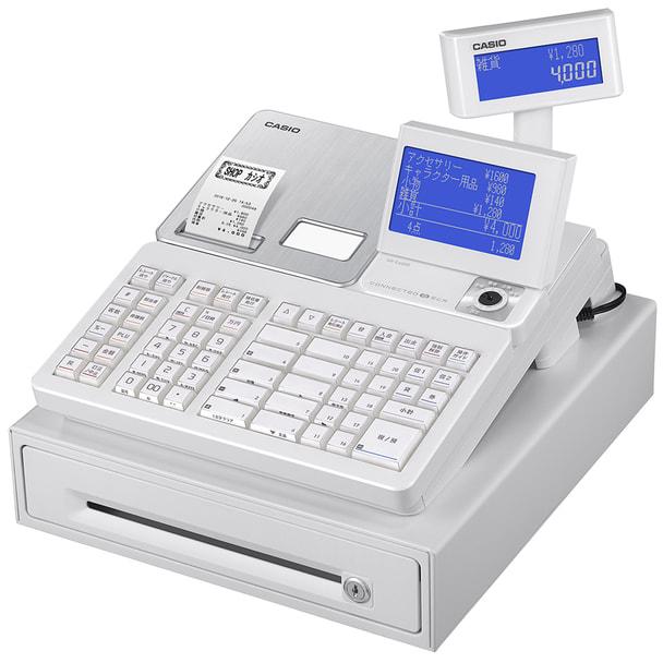 カシオ電子レジスターSR-S4000-20S-WE(ホワイト) 1