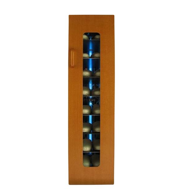 殺菌スリッパ保管庫 UVクリーン DXタイプ 8足保管 左取手 (メイプル)