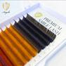 極柔フラットラッシュ <カラー4色>[Dカール太さ0.15長さ9mm] (16列) 2