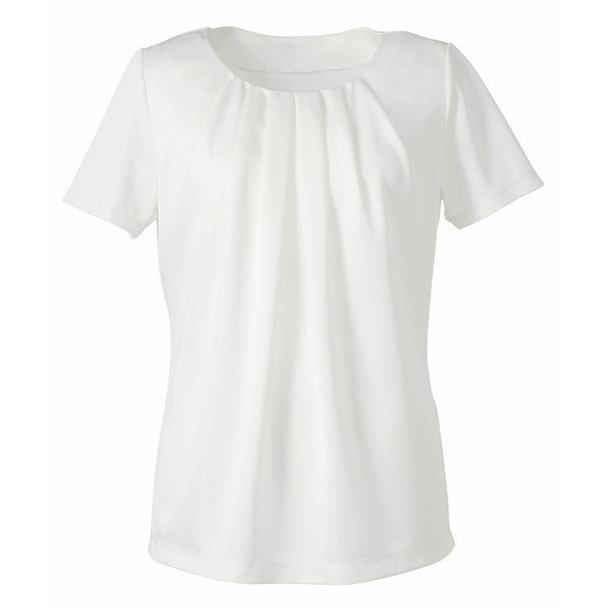 半袖プルオーバー EST559(M)(ホワイト) 1