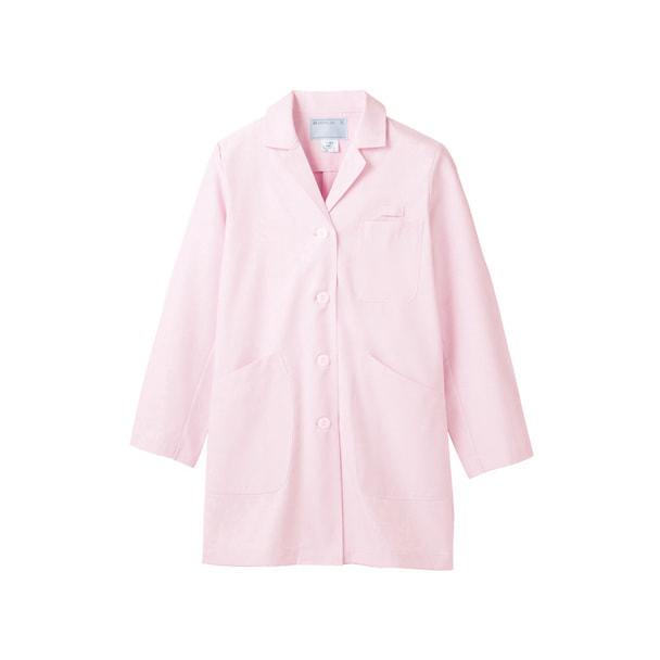 TTドクターコート(レディス・長袖)71-085(LL)(ピンク) 1