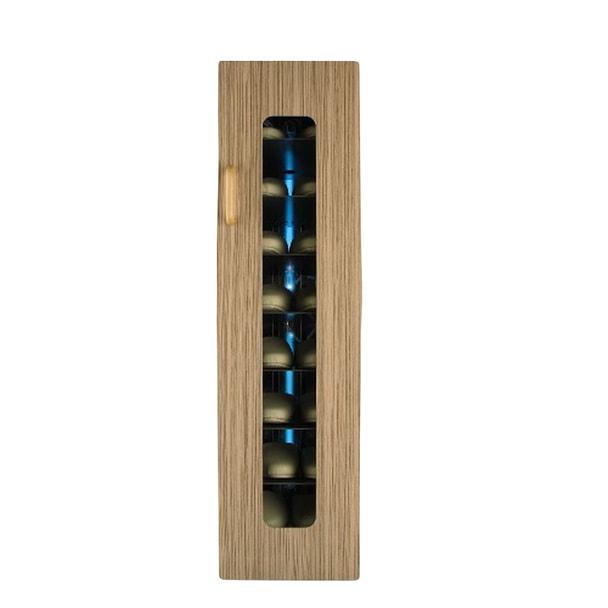 殺菌スリッパ保管庫 UVクリーン DXタイプ 8足保管 左取手 (ゼブラライト)