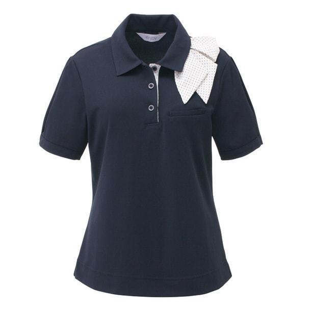 ポロシャツ ESP403(S)(ネイビー) 1