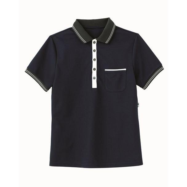 ポロシャツ HM2179(L)(ブルーベリー) 1