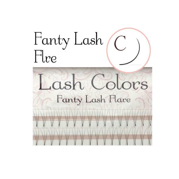 【LashColors】ファンティフレア3D Cカール[太さ0.06][長さ10mm] 1