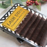 フラットラッシュ チョコアブラウン[Jカール 太さ0.20 長さ9mm] 2