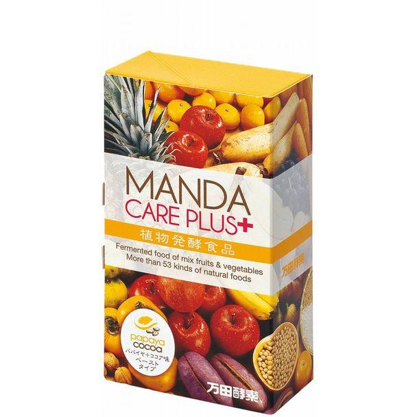 万田酵素 MANDA CARE PLUS(パパイヤ+ココア味・ペーストタイプ)2.5g×30包 1