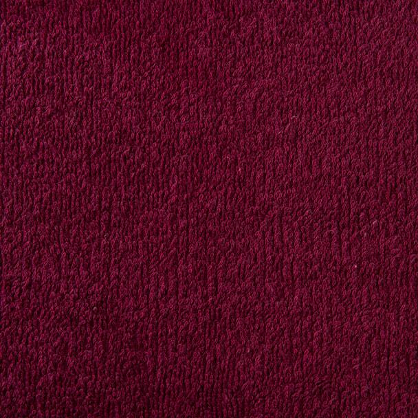 高級パイル地特大タオルシーツ 110×220cm(ワインレッド) 1