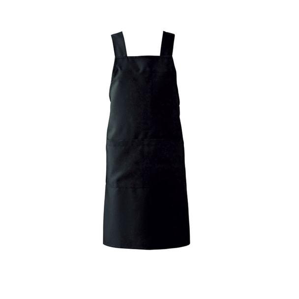 エプロン T7501(M)(ブラック) 1