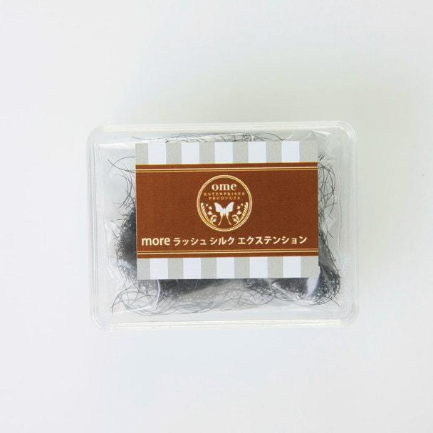 moreラッシュ・シルク(1g) Jカール[太さ0.10][長さ6mm]