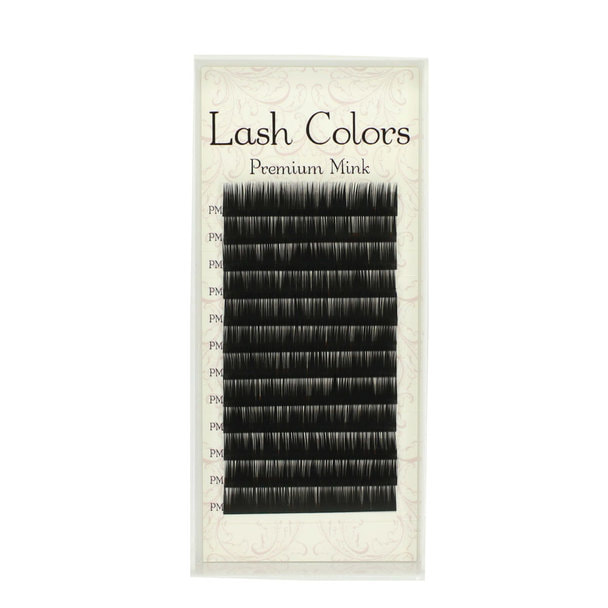 【LashColors】プレミアムミンク Cカール[太さ0.06][長さ11mm]