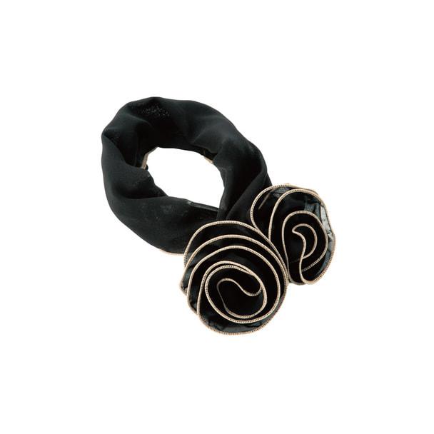 スカーフOP148(ブラック) 1