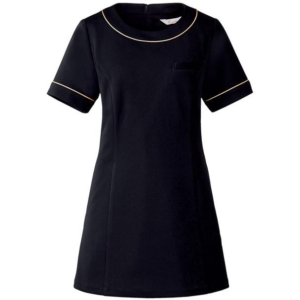 チュニックCL-0204(5号)(ブラック) 1
