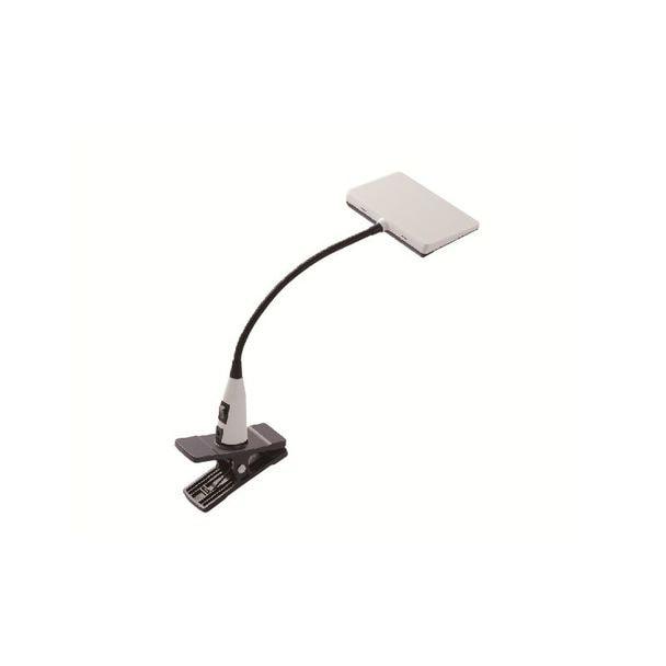 LUPINUS 面発光LEDクリップライト白 EK214-WH2